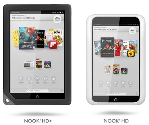 Nook HD+ và Nook HD