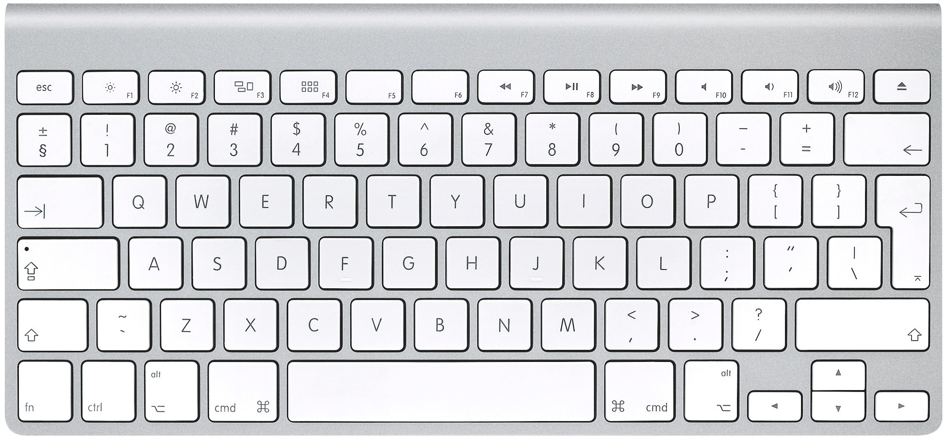 Ma Book Keyboard Layout