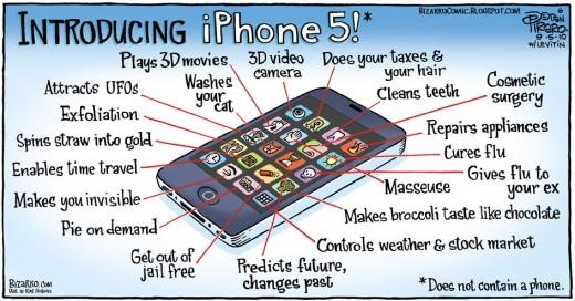 Các tính năng mới của iPhone 5