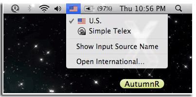 Kiểu gõ Simple-Telex