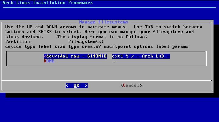 Phân vùng của hệ thống Linux