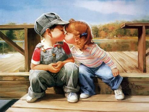 Tình yêu trong mắt trẻ thơ