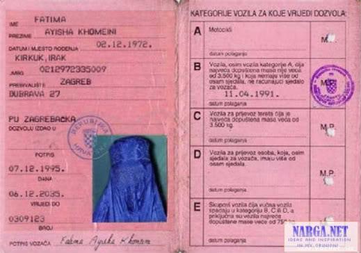 ID Card Chỉ có ở Trung Đông