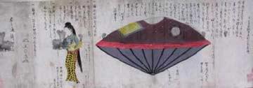 Nhật chạm trán UFO từ thời… trung cổ