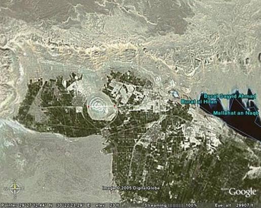 Tại tọa độ 29°27'1.95″N, 30°21'38.90″E, thuộc Ai Cập, Bắc Phi