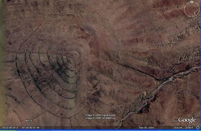 Nó nằm ở phía tây nam Oruro, khu vực hồ Poopo, thuộc dãy núi Altiplano của Bolivia, Nam Mỹ