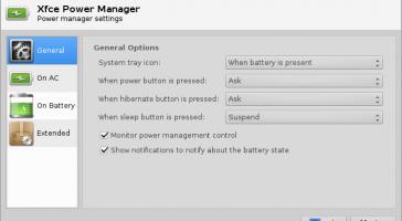 Khắc phục lỗi bấm nút nguồn hệ thống tự động tắt trên XFCE 4.10