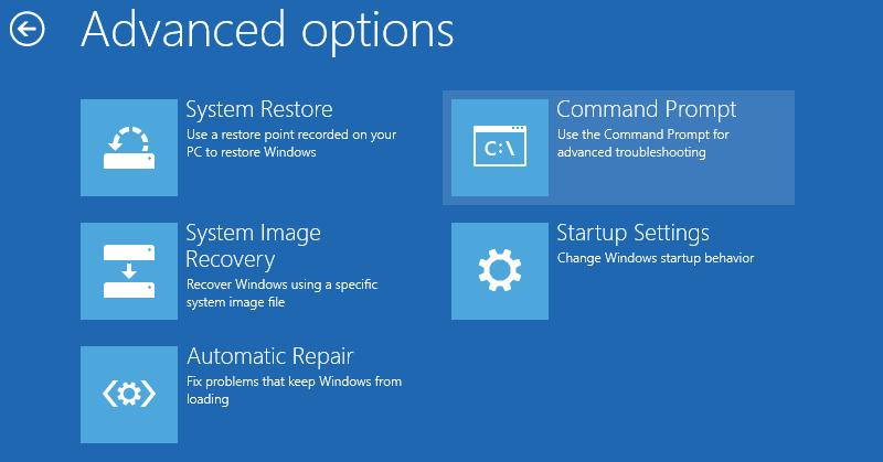Khôi phục lỗi mất thông tin khởi động của UEFI Partition trên Windows 8+