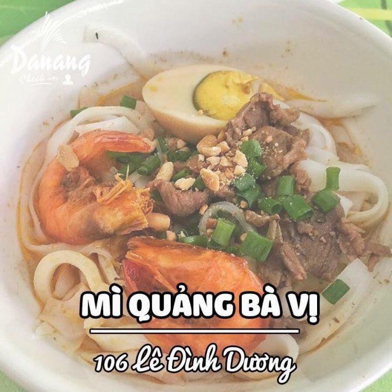 Mỳ Quảng Bà Vị