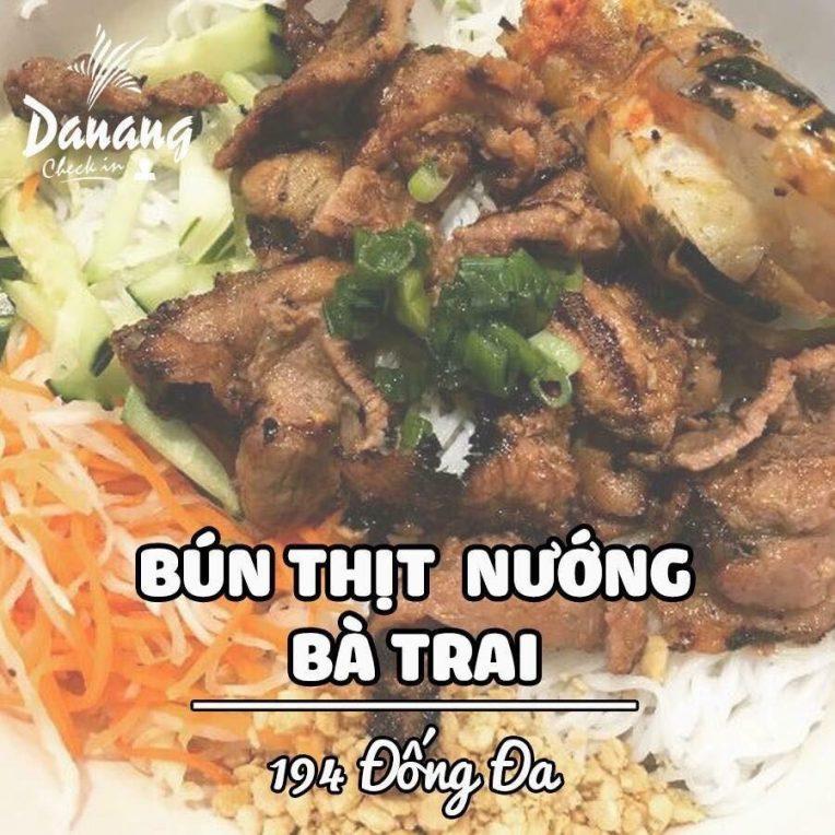 Bún Thịt nướng Bà Trai