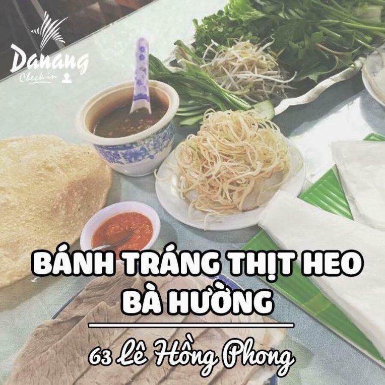 Bánh Tráng Thịt Heo Bà Hường